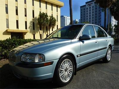2000 Volvo S80 -- 2000 Volvo S80 T6! Warranty! 2-Owners! Heated Seats! Moonroof! T6! Polar Blue!