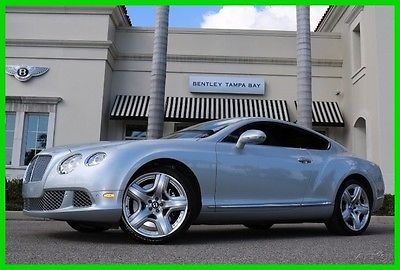 2012 Bentley Continental GT GT Coupe 2-Door 2012 Used Certified Turbo 6L W12 48V Automatic AWD