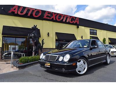 2001 Mercedes-Benz E-Class  2001 Mercedes-Benz E55 AMG Automatic 4-Door Sedan BLACK MONOBLOCK WHEELS