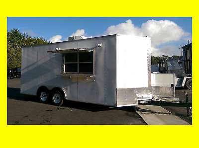2017 Lark 8.5x18 Concession Trailer loaded with features