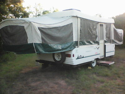 1999 Coleman Westlake Pop Up Camper solid but needs some repairs