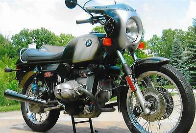 1976 BMW R-Series  1976 BMW R90S Turbo   Luftmeister  11tmls, 2nd owner