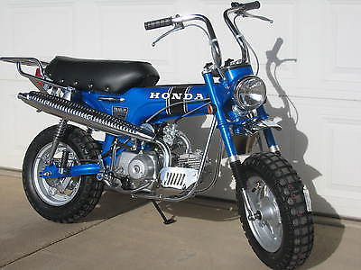 1970 Honda CT  Reposting of 1970 Honda CT70 Restored and Beautiful with a matching engine