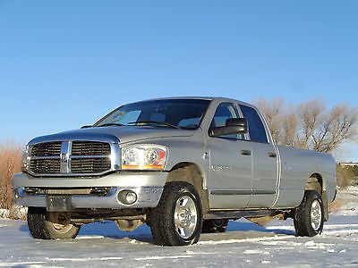 2006 Dodge Ram 2500 Ram 2500 Heavy Duty 2006 Dodge Ram 2500 SLT Crew Cab 5.9 Cummins 6 Spd Manual Trans 4WD LB