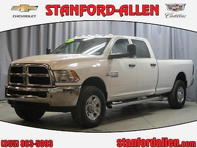 2014 Ram 2500 Tradesman Crew Cab Pickup 4-Door 2014 RAM 2500 4WD CREW CAB 8 FT BOX TRADESMAN 1 OWNER