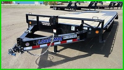 2017 Load Trail 20' Deckover Equipment w/ Monster Ramps New