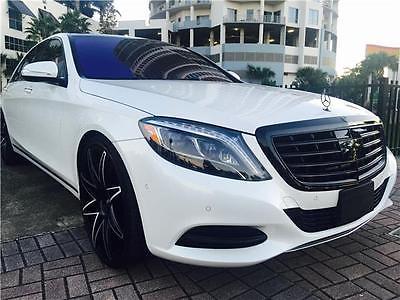 2015 Mercedes-Benz S-Class S550 2015 MERCEDES S550  4,900 Miles WHITE   Automatic