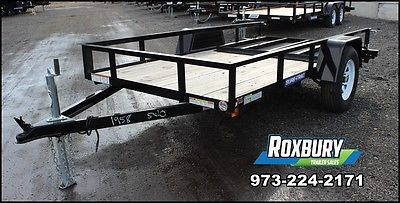 2015 Sure-Trac 5x10 Angle Iron Utility Trailer REDUCED LEFT OVER