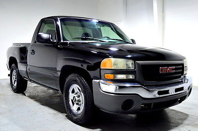 2004 GMC Sierra 1500 STEPSIDE 2004 Black STEPSIDE! AUTOMATIC CLEAN RUNS STRONG FLORIDA NO RUST