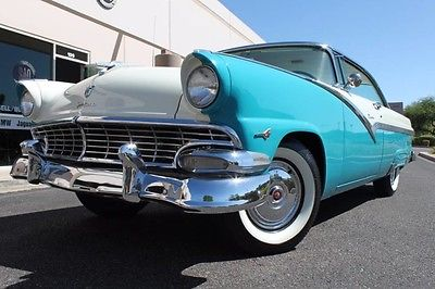 1956 Ford Other Pickups Restored 1956 Ford Fairlane Victoria Hardtop Coupe Restored 103,650 Miles Peacock Blue/Co