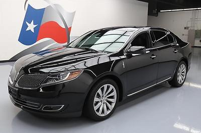 2015 Lincoln MKS Base Sedan 4-Door 2015 LINCOLN MKS CLIMATE SEATS BLUETOOTH REAR CAM 7K MI #600881 Texas Direct