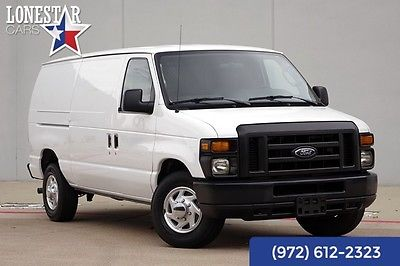 2012 Ford E-Series Cargo Van Commercial 2012 White Commercial!