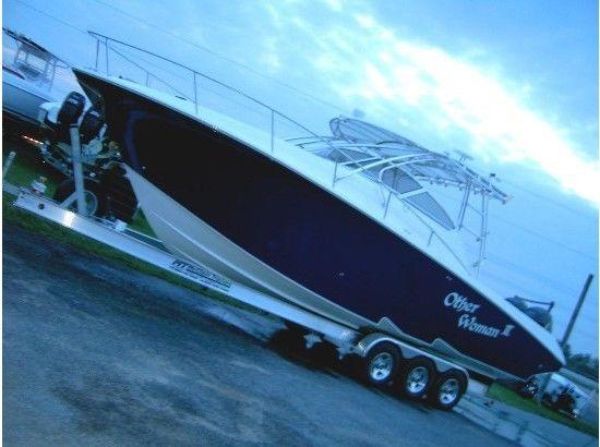 Fountain 33 ft. Sport Fish Cruizer :compare to Donzi, Wellcraft, Contender,Grady