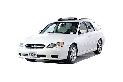 2006 Subaru Legacy 2.5i 2006 Subaru Legacy 2.5i 61747 Miles White 4D Station Wagon 2.5L H4 SMPI SOHC 4-S