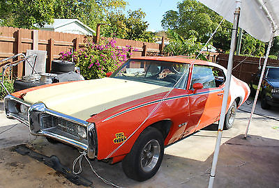 1969 Pontiac Le Mans Lemans 1969 Pontiac Lemans GTO Clone Project or Parts with Title