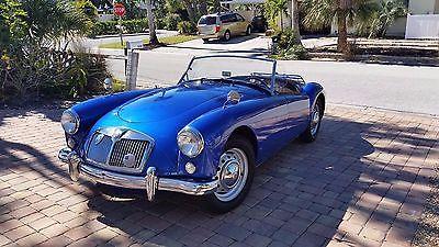 1957 MG MGA Chrome 1957 MG MGA Roadster