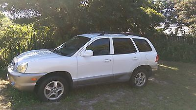 2002 Hyundai Santa Fe Dark Gray 2002 Hyundai Santa Fe GL Model 2.4 Liter (4 cylinders) PARTS CAR NOT RUNNING