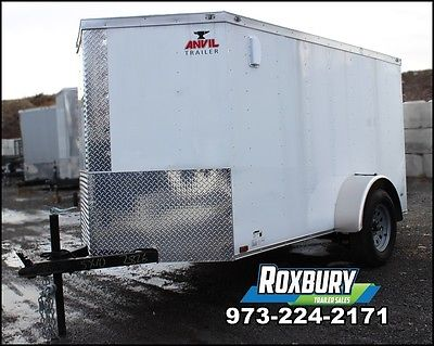 2017 Anvil 5x10 V-Nose Enclosed Trailer