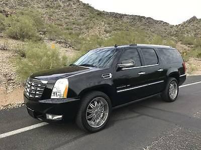 2011 Cadillac Escalade ESV 2011 Cadillac Escalade ESV