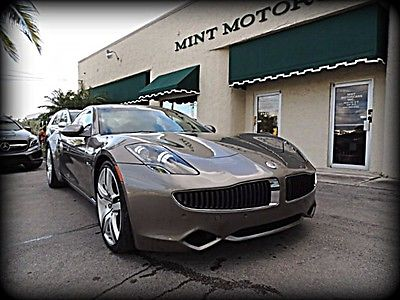 2012 Fisker Karma ECO Sport ONE FLORIDA OWNER, NEW JAGUAR TRADE, TOP LINE ECOSPORT, 21IN WHEELS, QUILTED INT