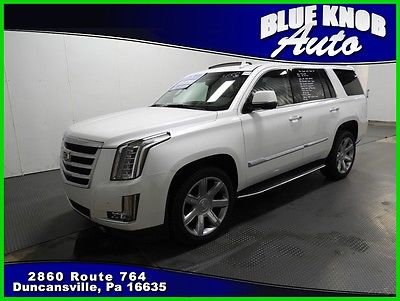2016 Cadillac Escalade Luxury Collection 2016 Luxury Collection Used 6.2L V8 16V Automatic 4x4 SUV Bose Premium OnStar
