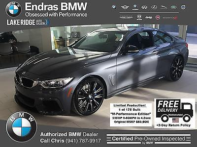 2015 BMW 4-Series 435i 2015 BMW 4 Series 435i 21,584 Miles M-Performance Edition