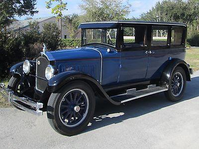 1926 Willys Knight  1926 Willys-Knight Model 70 4 Door Sedan