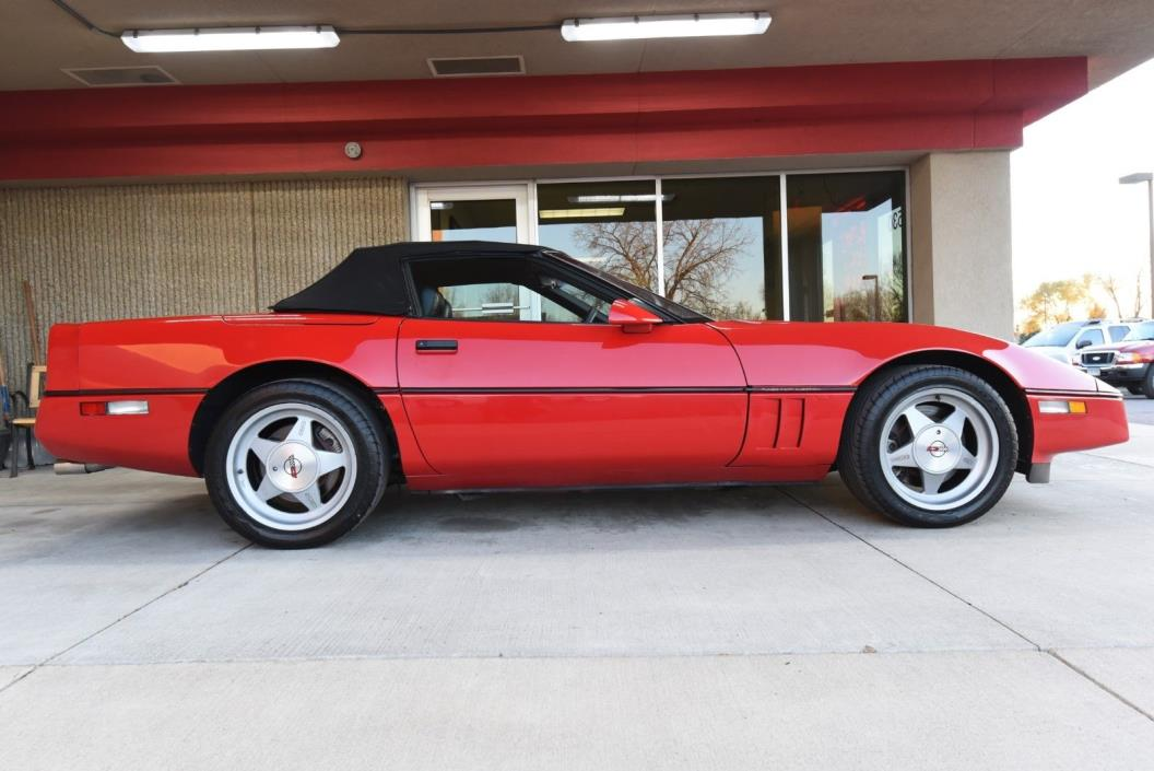 1989 Chevrolet Corvette Converible Rare and beautiful.Callaway Twin Turbo RPOB2K by original owner Car #12 for 1989