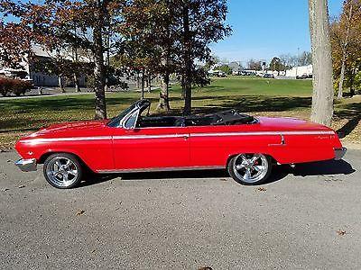 1962 Chevrolet Impala Factory V8 1962 Chevy Impala Convertible