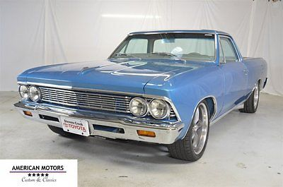 1966 Chevrolet El Camino El Camino 1966 Chevrolet El Camino Restomod Bunch Of $$$ Invested Beautiful Car