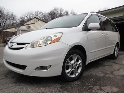 2006 Toyota Sienna XLE 2006 Toyota Sienna XLE 92,520 Miles Arctic Frost Pearl 5 Door Reg WB V6 Cylinder