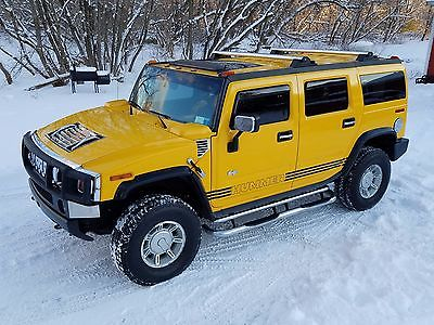 2005 Hummer H2 Luxury 2005 hummer h 2 luxury edition 6.0 4 x 4 low miles