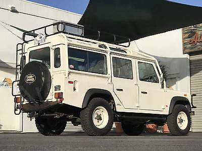 1993 Land Rover Defender 110 -- 1 of 500 U.S. NAS 110s Built. 1-Owner Pike's Peak Champion Jeff Zwart