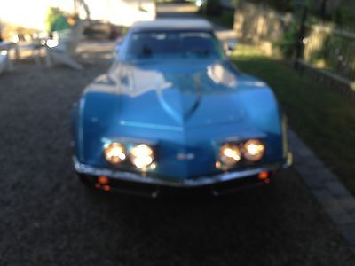 1969 Chevrolet Corvette Lemans Blue/Blue/White 1969 Corvette Stingray Convertible Survivor