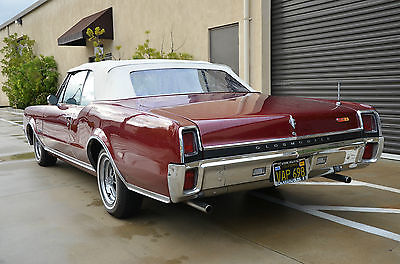 1967 Oldsmobile 442 Base Convertible 2-Door 1967 Oldsmobile 442 Base Convertible 2-Door 6.6L