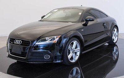 2014 Audi TT 2.0T quattro 2014 Audi TT 2.0T quattro 28982 Miles Black 2dr Car Intercooled Turbo Premium Un