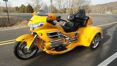 2010 Honda Gold Wing  2010 honda goldwing gl 1800 w california sidecar s viper conversion trike kit