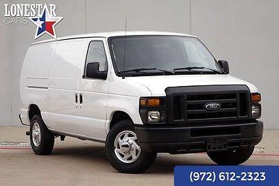 2012 Ford E-Series Cargo Van Base Standard Cargo Van 3-Door 2012 White Commercial!