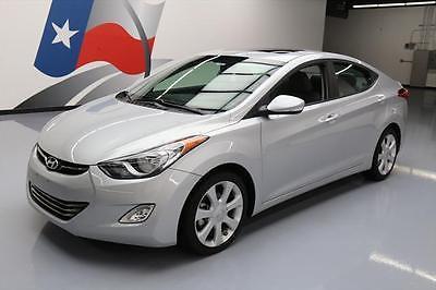 2013 Hyundai Elantra  2013 HYUNDAI ELANTRA LIMITED SUNROOF HTD LEATHER 24K MI #274733 Texas Direct