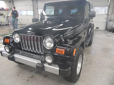 2003 Jeep Wrangler Sahara 2003 jeep wrangler
