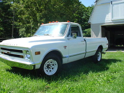 1968 Chevrolet Other Pickups Chevy C20 Truck Vintage White L/Bed P/S P/B Small Block Auto Trans Factory Air