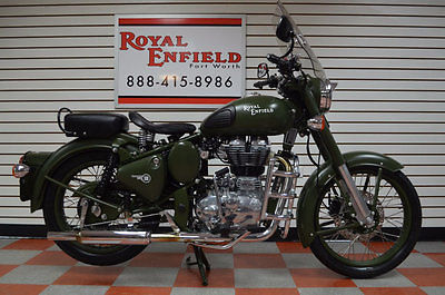 ROYAL ENFIELD C5 MILITARY LOADED WITH UPGRADES 2015 ROYAL ENFIELD C5 MILITARY LOADED WITH UPGRADES FINANCING CALL NOW WE TRADE!