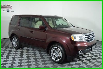 2014 Honda Pilot EX-L FWD 3.5L V6 Engine SUV Sunroof Heated Leather 83188 Miles Used Purple 2014 Honda Pilot EX-L FWD SUV Sunroof Heated Leather