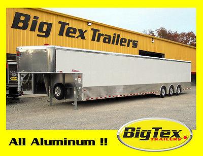 2017 All Aluminum 48ft Cargo Car Hauler 40ft on the Floor Super Deal