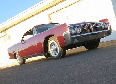 1962 Lincoln Continental  tunning condition collectible convertible