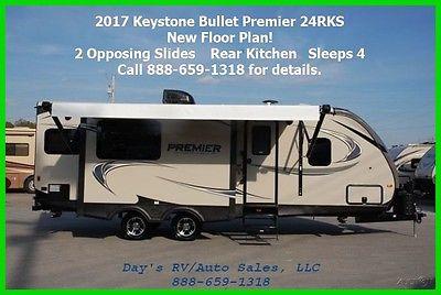 2017 Keystone Bullet Premier 24RKPR Bumper Pull Behind Camper Travel Trailer RV