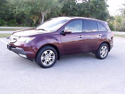 2008 Acura MDX SH-AWD w/Power Tailgate w/Tech 4dr SUV and Technol 2008 Acura MDX SH-AWD w/Power Tailgate and Technology Package