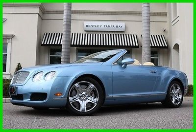 2007 Bentley Continental GT GTC Convertible 2-Door 2007 Used Certified Turbo 6L W12 60V Automatic AWD Premium
