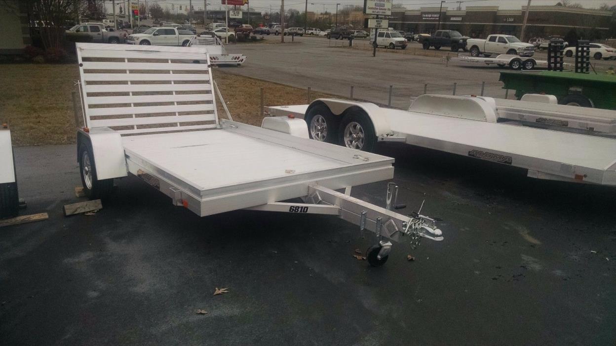 2017 Aluma 6810 aluminum utility trailer