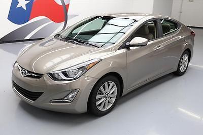 2014 Hyundai Elantra  2014 HYUNDAI ELANTRA SE SEDAN AUTO REAR CAM ALLOYS 39K #464641 Texas Direct Auto